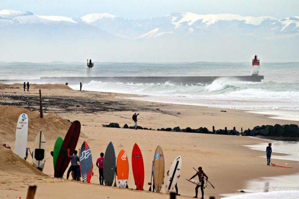 Reportages Photo Rip Curl Challenge La Nord 2018 hossegor gravière photographe de surf clément philippon pierre rollet