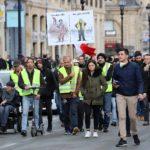 manifestation gilets jaunes Bordeaux