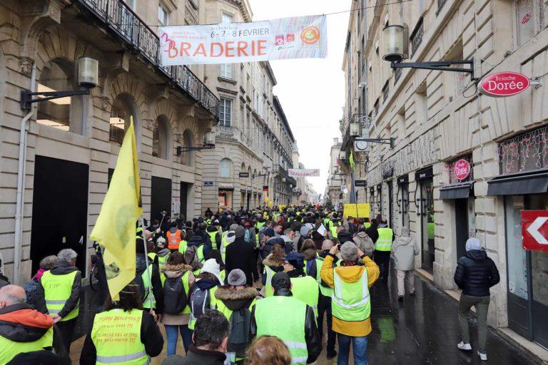 2019 – Manifestation Bordeaux Gilets Jaunes – C.Philippon