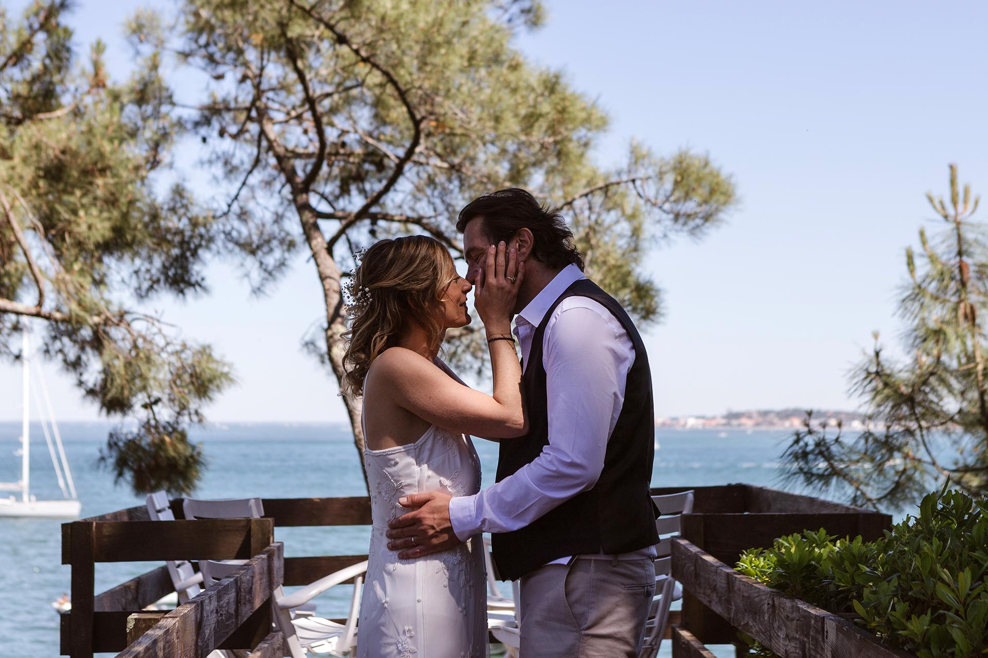 Photographe Mariage Cap Ferret clément Philippon Photographe wedding Bordeaux bassin arcachon